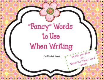 Fancy Words to Use When Writing