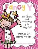 Fancy Y as Long E {long e spelled y phonics unit}