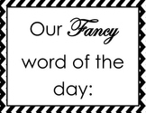 """""""Fancy"""" word of the day"""