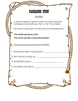 Fandango Stew- Lesson Plans & Activities