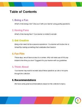 Fandoms (learn by being a fan)