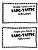 Fang-Tastic Halloween