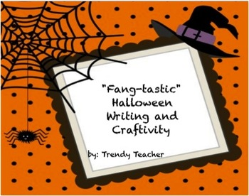 Fang-tastic Halloween Writing and Craftivity