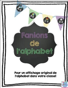 Fanions de l'alphabet français/ French alphabet pennants