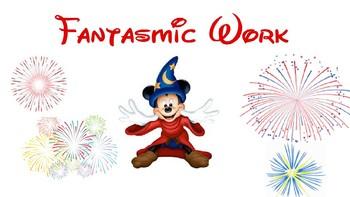 Fantasmic Work Mickey Work Display Disney