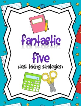 Fantastic 5 Test Taking Strategy Posters