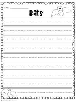 Fantastic Bats {a Mini-Unit of Activities & Printables}