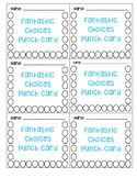 Fantastic Choices Punch Card