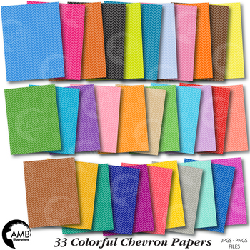 33 Chevron Tone on Tone Digital Papers, {Best Teacher Tools} AMB-1900