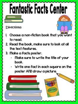 Fantastic Facts Non-Fiction Reading Center