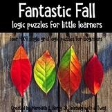 Fantastic Fall Beginner Logic Puzzles