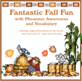 Fall Speech Activity Resource for Phonemic Awareness and Vocabulary