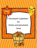 Fall Fiction and Non-fiction Graphic Organizers and Litera