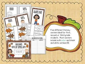 Fantastic Fall Literacy Centers