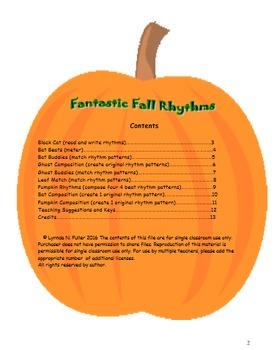 Fantastic Fall Rhythms