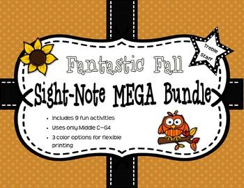 Fantastic Fall Sight-Note MEGA Bundle