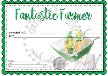 Fantastic Farmer Award