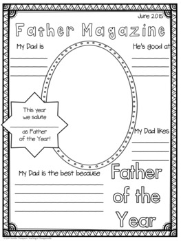 Fantastic Fathers: Father's Day Activities