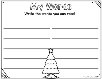 Fantastic Festive Readers (A Sight Word Game) EDITABLE Cards Included!!!