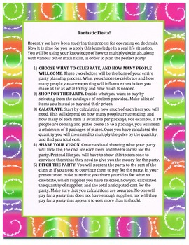 Fantastic Fiesta! Party Planning Project