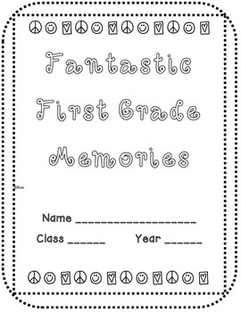 Fantastic First Grade Memory Book