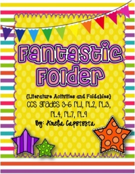 Fantastic Folder Literature Lapbook for ANY book