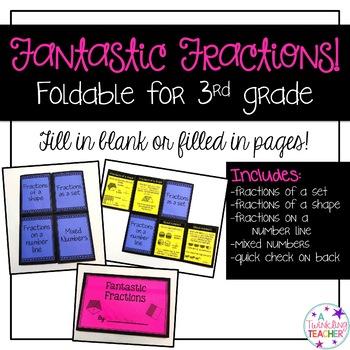 Fantastic Fraction Foldable!