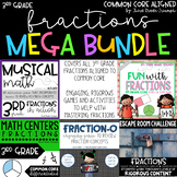 Fractions Bundle  - 3rd Grade