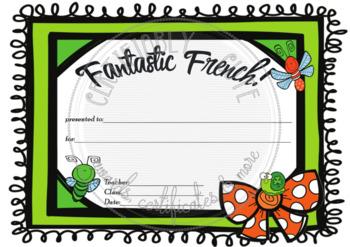 Fantastic French!