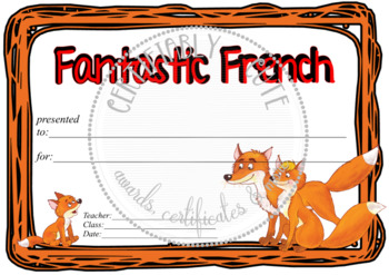 Fantastic French Fox Family