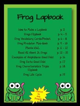 Fantastic Frog Lapbook