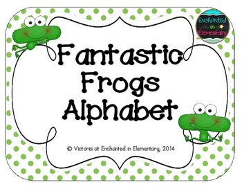 Fantastic Frogs Alphabet Cards
