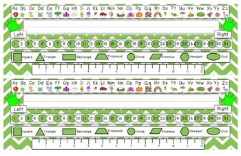 Fantastic Frogs Chevron Desk Reference Nameplates Version 2