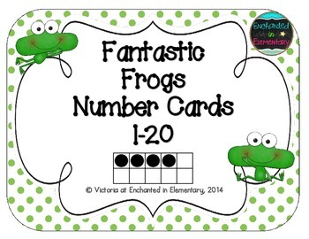 Fantastic Frogs Number Cards 1-20