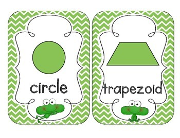 Fantastic Frogs Shape Cards