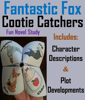Fantastic Mr. Fox Novel Study (Scoot Unit Review Game)