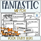 Fantastic Mr Fox Book Study and Worksheets