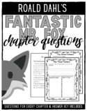 Fantastic Mr. Fox Chapter Questions Booklet