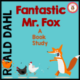 Fantastic Mr. Fox Book Study Roald Dahl