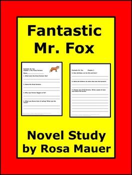 Fantastic Mr Fox Book Unit