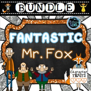 Fantastic Mr. Fox Character Traits Bundle