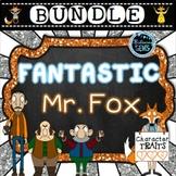 Fantastic Mr. Fox Character Traits Bundle   Fantastic Mr. Fox Novel Study
