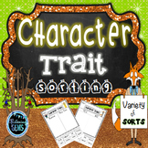 Fantastic Mr. Fox (Character Traits Sorting)