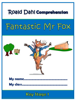 Fantastic Mr Fox Comprehension Activities Booklet!(For Grades K-3)