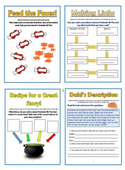 Fantastic Mr Fox Comprehension Activities Booklet!