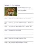 Fantastic Mr. Fox Discussion questions