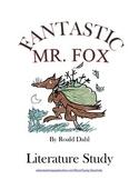 Fantastic Mr. Fox (TRIAL Literature Study: ch 1-11) Tests, Vocabulary, MORE