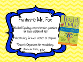 Fantastic Mr. Fox - Guided Reading Questions, Activities,