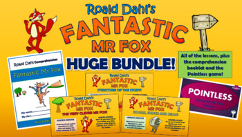 Fantastic Mr Fox Huge Bundle!