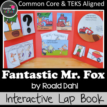 Fantastic Mr. Fox Interactive Novel Study (Notebook or Lap Book)